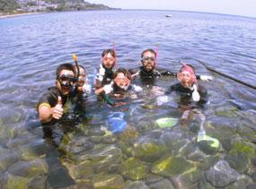 伊豆スノーケリング教室~高い透明度の海